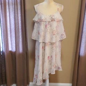NWOT a new day ruffled dress size Large